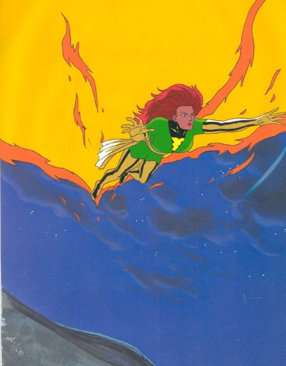 Jean Grey As Phoenix Jean Grey Phoenix Cartoon Animation