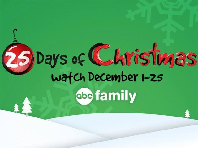 Full Schedule Abc Family S 25 Days Of Christmas Features Elf