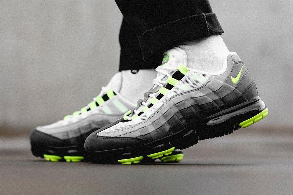 910bb0ffb4 Nike Air VaporMax 95 | 'Neon' Black/Volt Exclusive | Mens Trainers ...