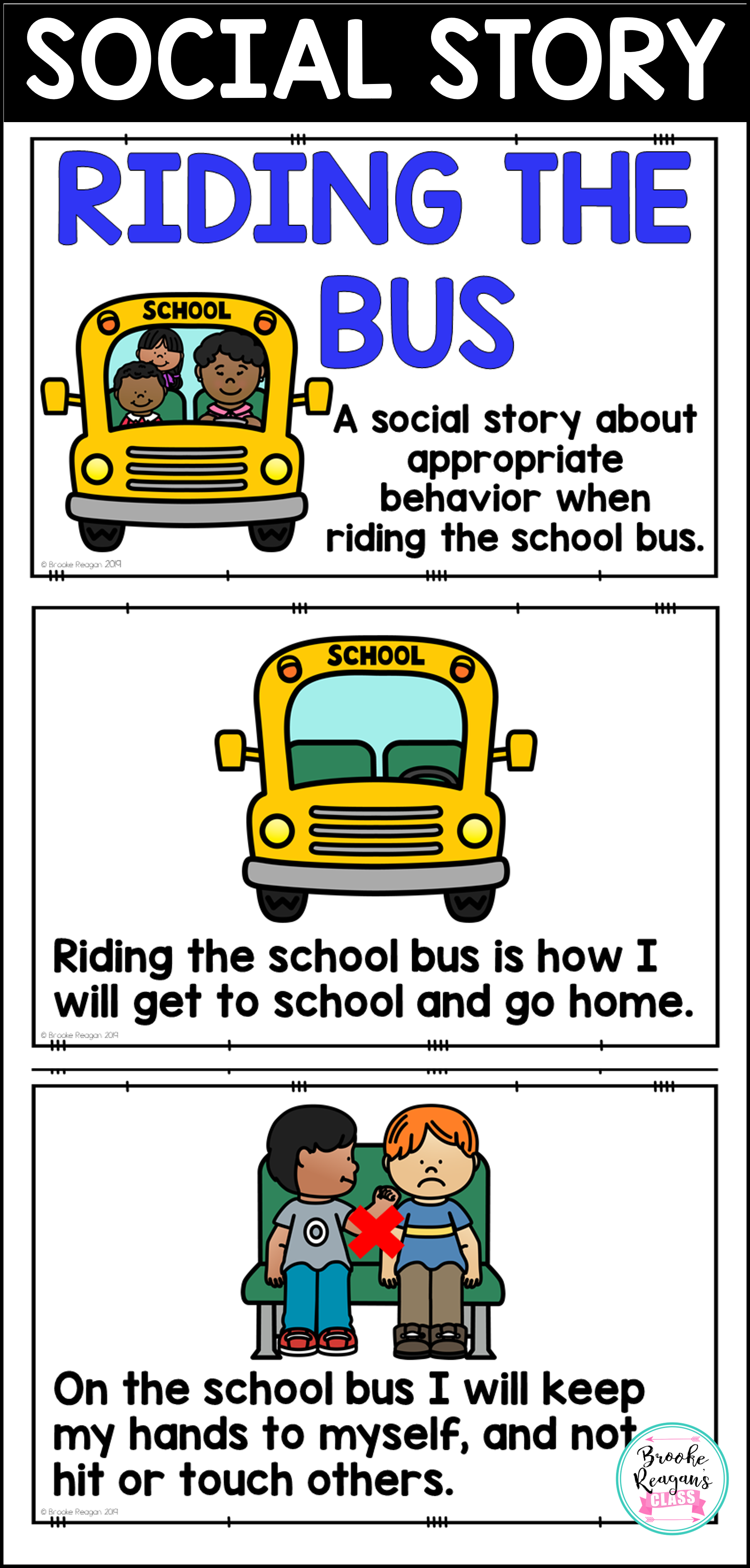 Social Story Riding The Bus