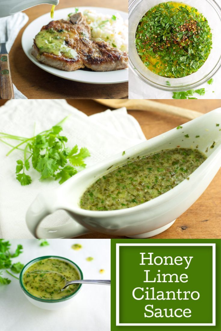 Honey Lime Cilantro Sauce #cilantrosauce