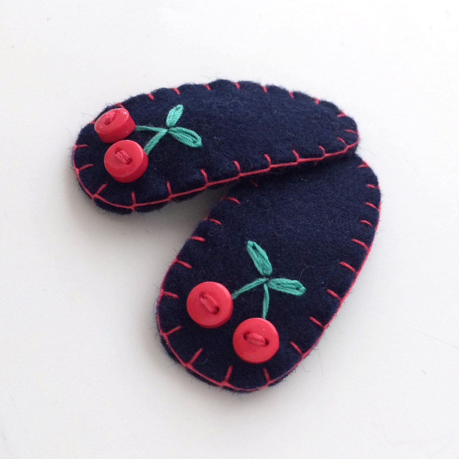 Items similar to Baby Hair Clips, Cherry Hair Clip for Baby Girls and Infants, Toddler Hair Accessory, Fruit Hair Clip, Baby Hairpin, Felt Hair Clip on Etsy
