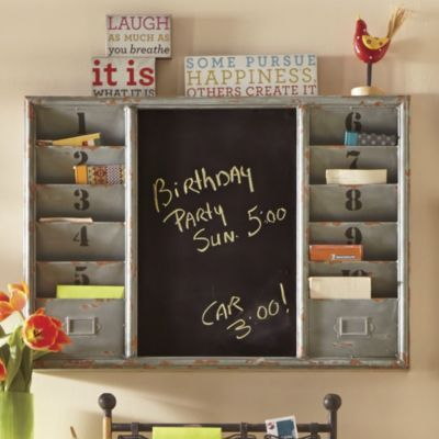 wall organizer - www.countrydoor | marvelous makeovers