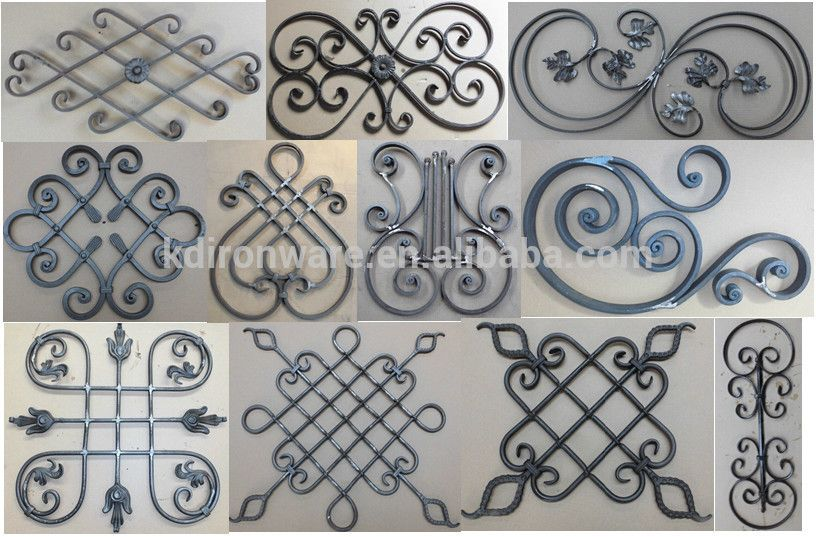 2015 New Design Wrought Iron Panels For Fence Gate Wholesale Wrought Iron Fence Panels Wrought Iron Fences Iron Decor