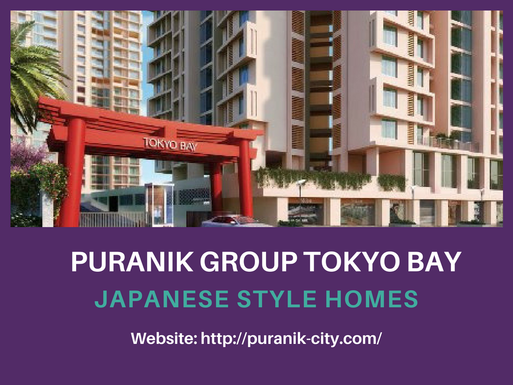 Japanese style Flats are available for sale in Puranik