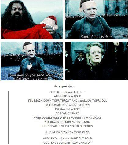 Voldemort christmas song 9gag tv