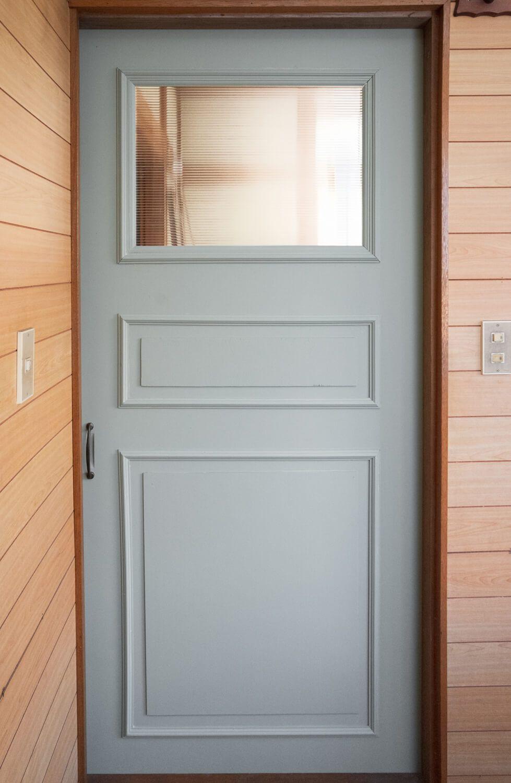襖 ふすま ドアを洋風にリメイクしてみる 襖 ドアリフォーム ドア
