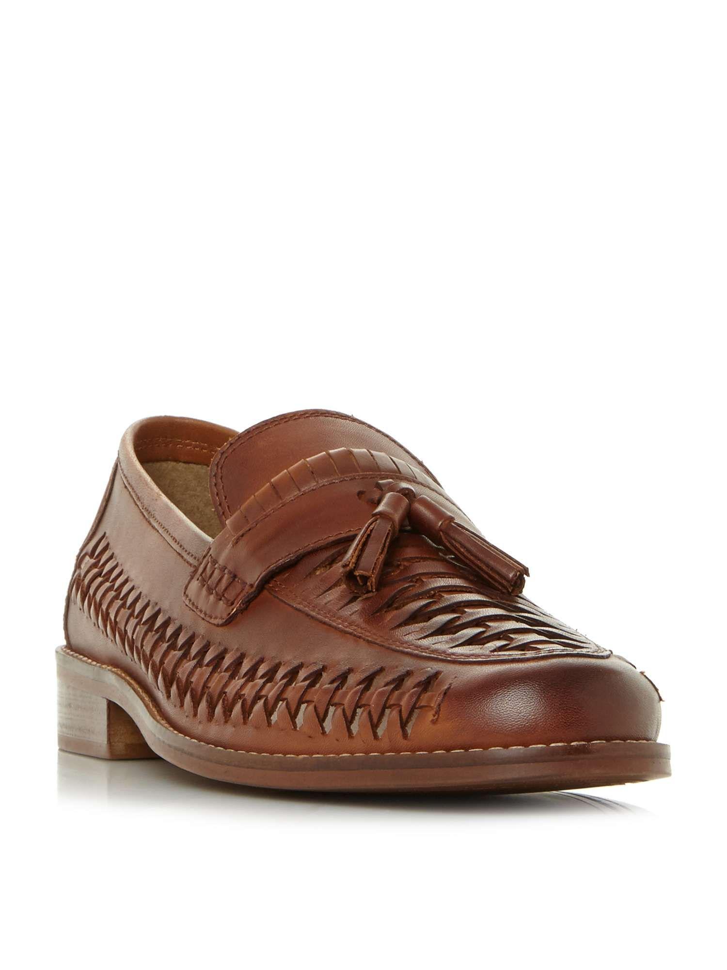 Dune Broadhaven Woven Tassle Loafer Shoes House Of Fraser Men S
