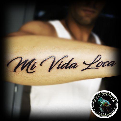 3e4e9eed57baa Mi vida loca... | Τατουάζ Γράμματα | Tattoos, Cool tattoos, Tattoo ...