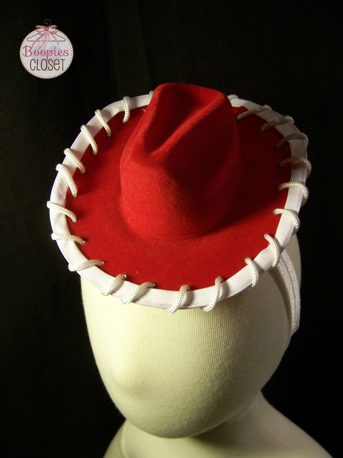 Western Hats. Jesse Cowgirl Hat Headband by BoopiesCloset on Etsy Jesse Toy  Story Costume 94852d9a9255