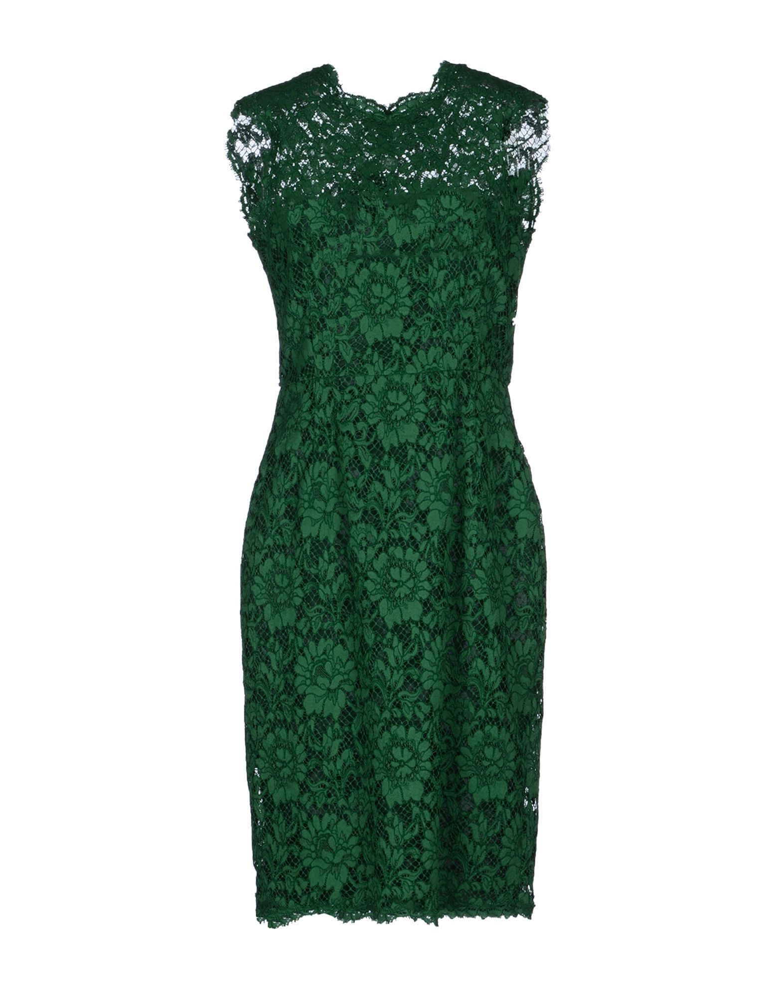 Valentino Kneelength Dress in Green