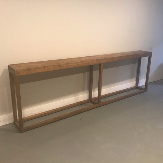 9 Foot Long Console Table Extra Long Sofa Table Narrow Console Table Behind Couch Table Behi Long Sofa Table Narrow Console Table Long Sofa