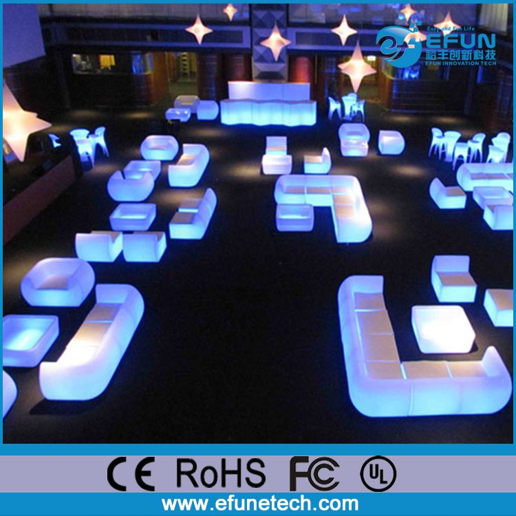 Outdoor Indoor Plastic Led Bar Sofa Chair Night Club Illuminated Find
