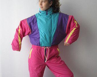 Vintage 80s Clothing Ski Etsy