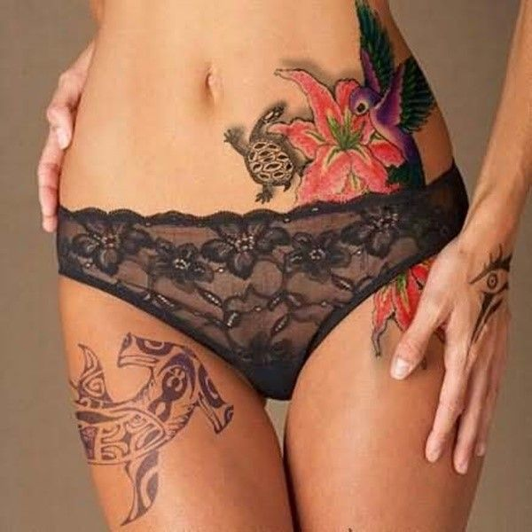 The popularity of tattoos for women is attributed to the women celebrities who are bearing a lot many of such designs. Top Rated collection of tattoos for women - Part 3