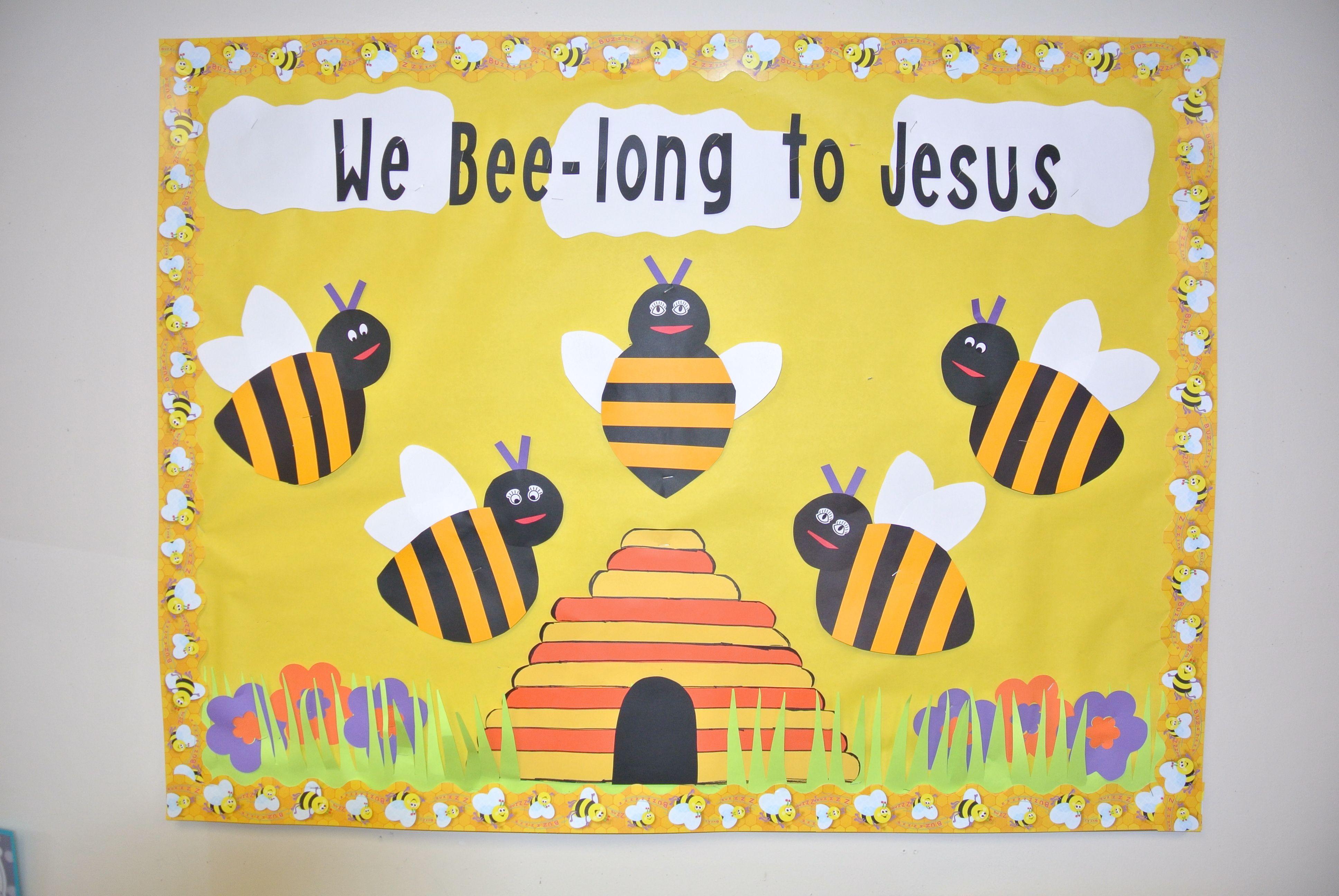 Sunday School Bulletin Boards