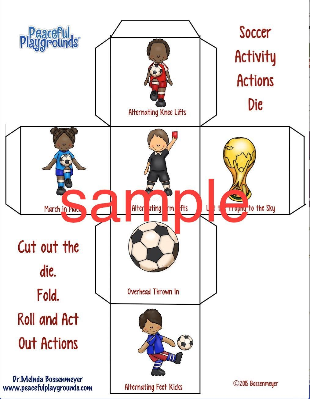 FREE FRIDAY DOWNLOAD. Soccer Dice Game. https//drive