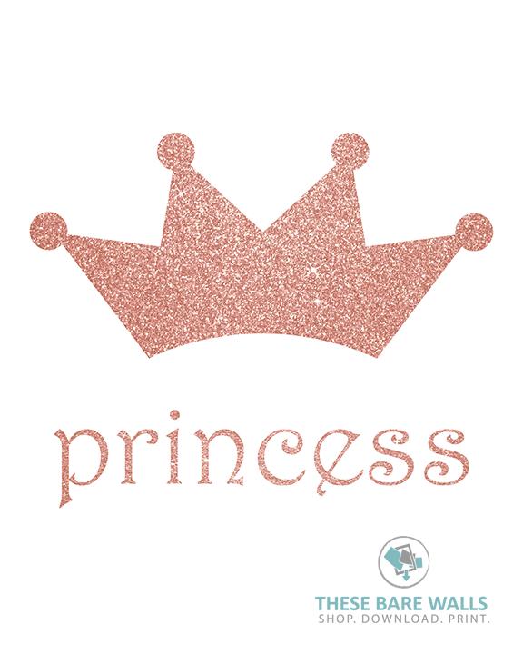 Princess Crown Printable Wall Art Printable Wall Art Princess Crown Drawings Printable