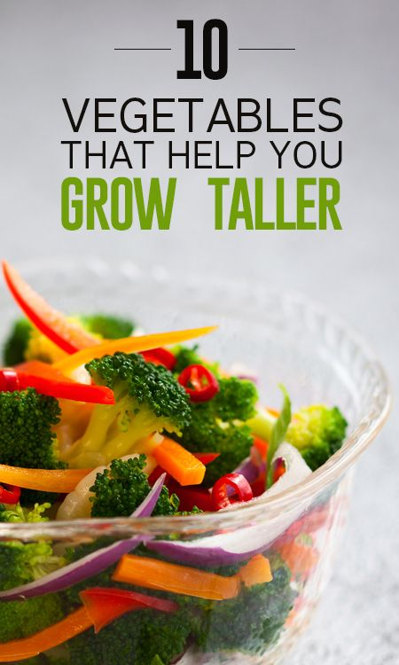 Top 10 Vegetables That Help You Grow Taller To Get Gorgeous How