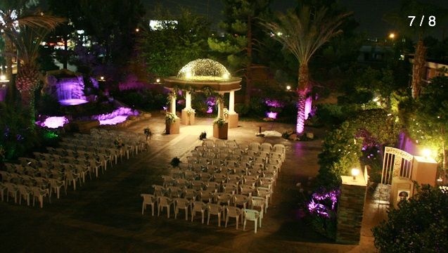 Las Vegas Wedding Venue Rainbow Gardens Unveils New Outdoor Ceremony Area And Climate Controlled