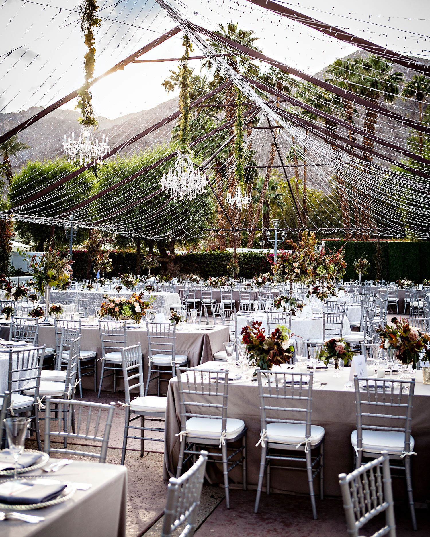 Fall Outdoor Wedding At A Luxury Resort In The California