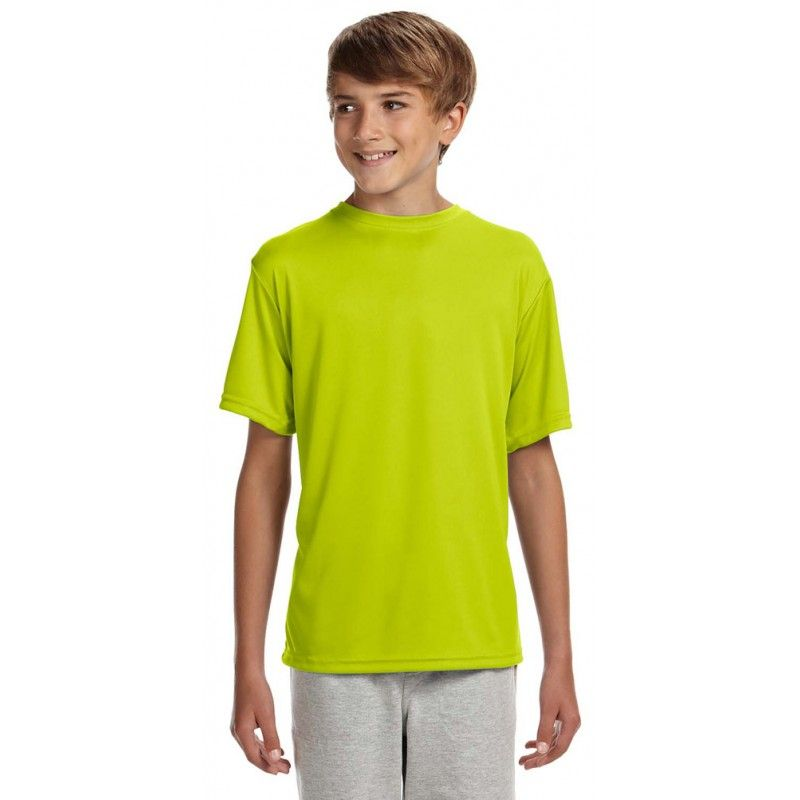 A4 Nb3142 Youth Cooling Performance Crew Shirts Cool T Shirts