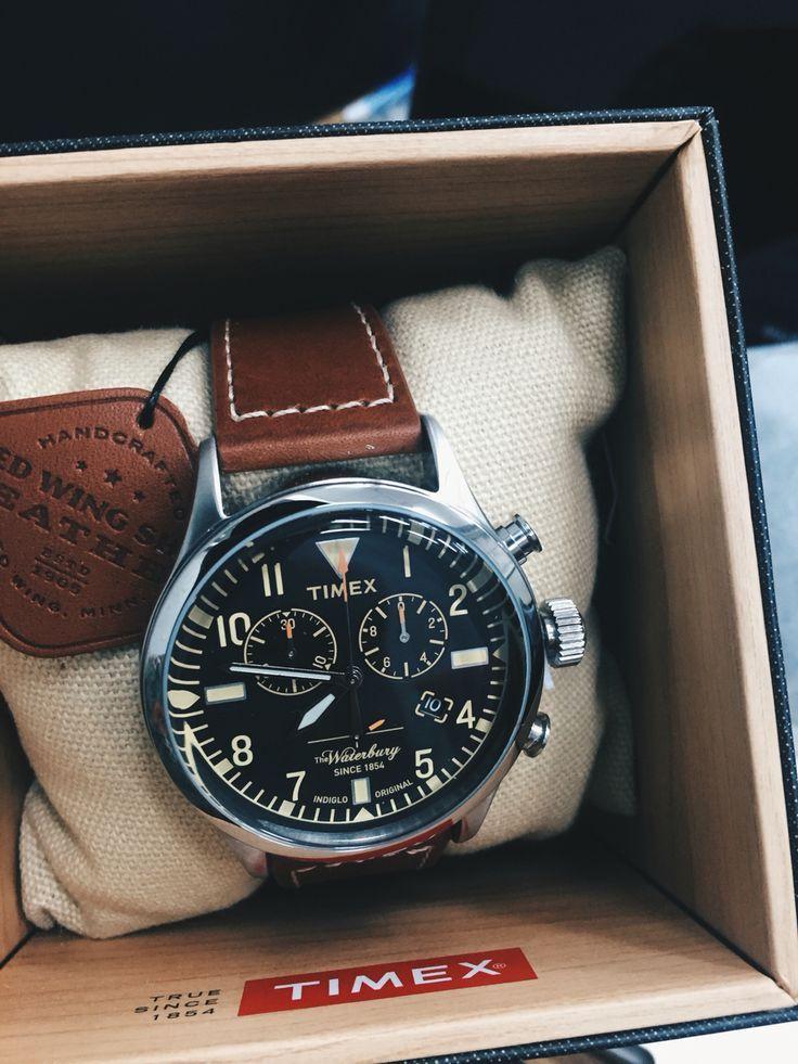 46c9a3d0c930 Timex x Redwing waterbury Chronograph Reloj Timex