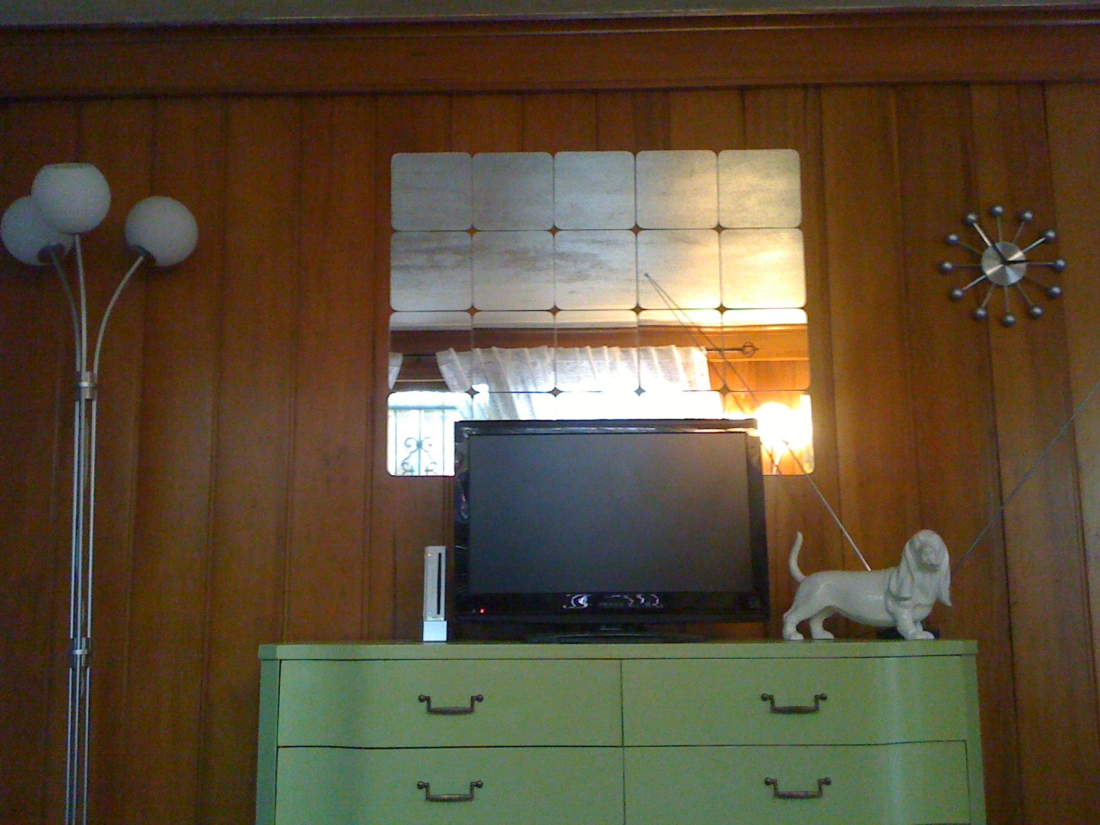 The Wood Paneling Was Installed By My Landlords Grandparents In