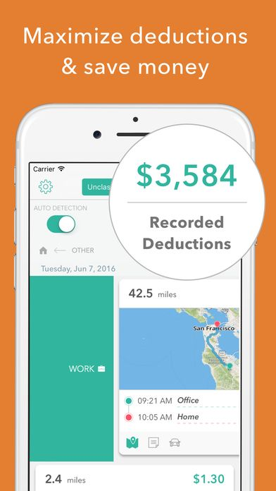 Pin by Everlance on Everlance for iOS | Mileage tracker ...