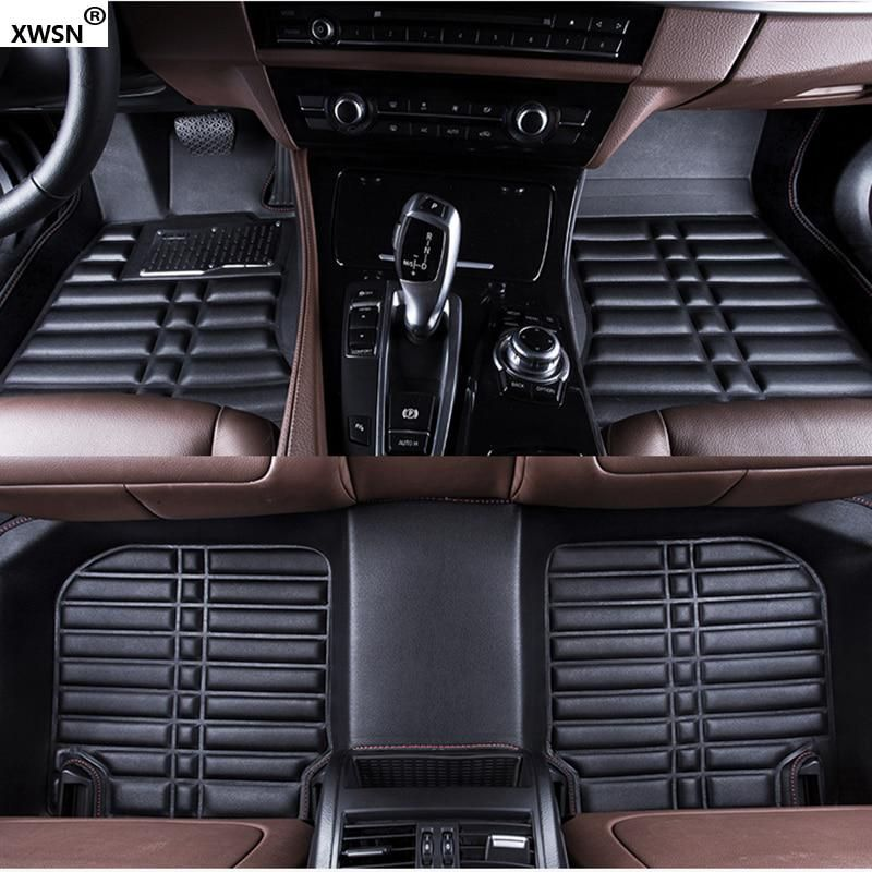 Standard Audi A1 2010-2019 Tailored Car Floor Mats Fitted Set Black 5 Door