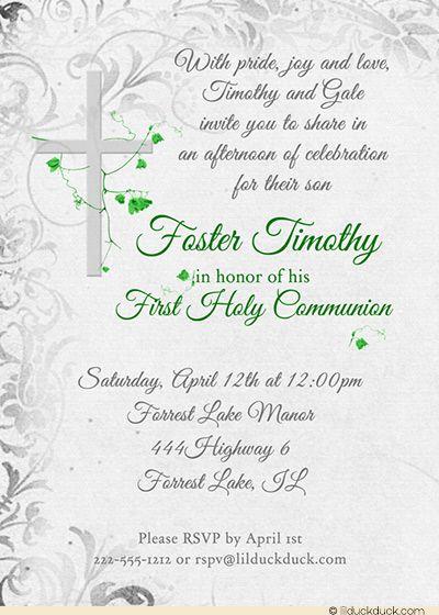 communion invitation wording