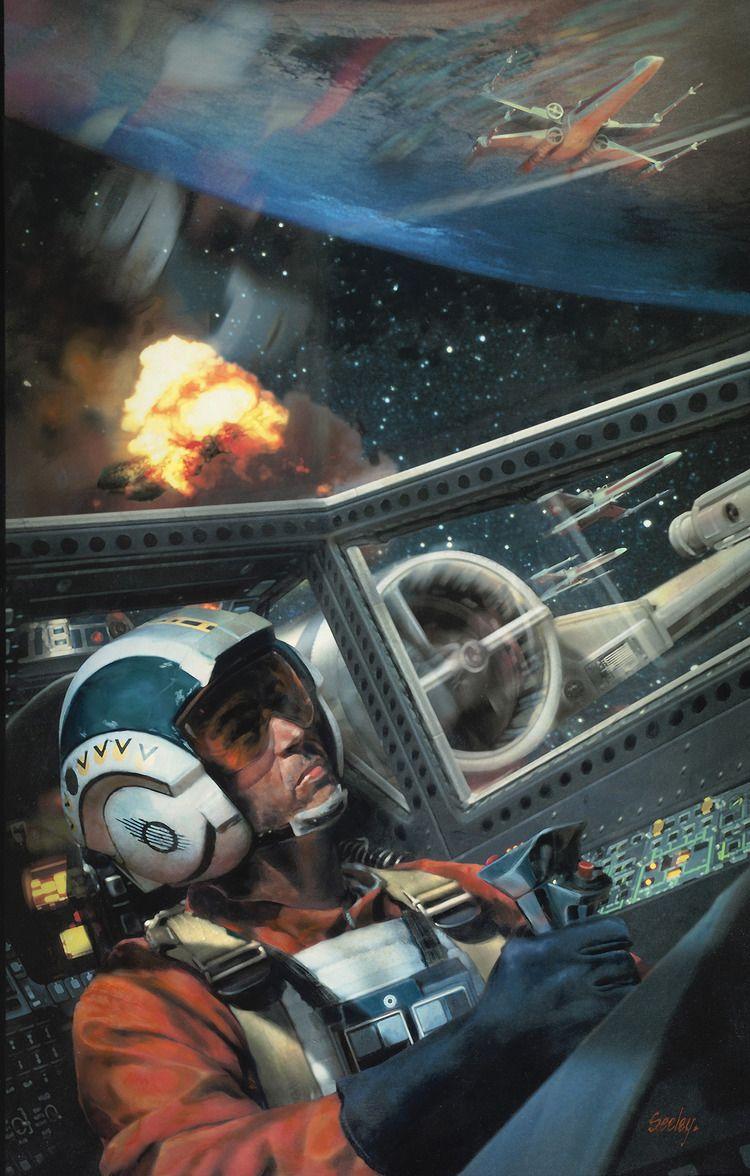Star Wars fan art by Dave Seeley