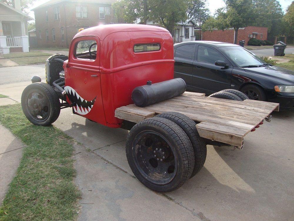 1947 Ford Dually Truck - Hot Rod, Rat Rod, Chopped, Kustom, Small ...