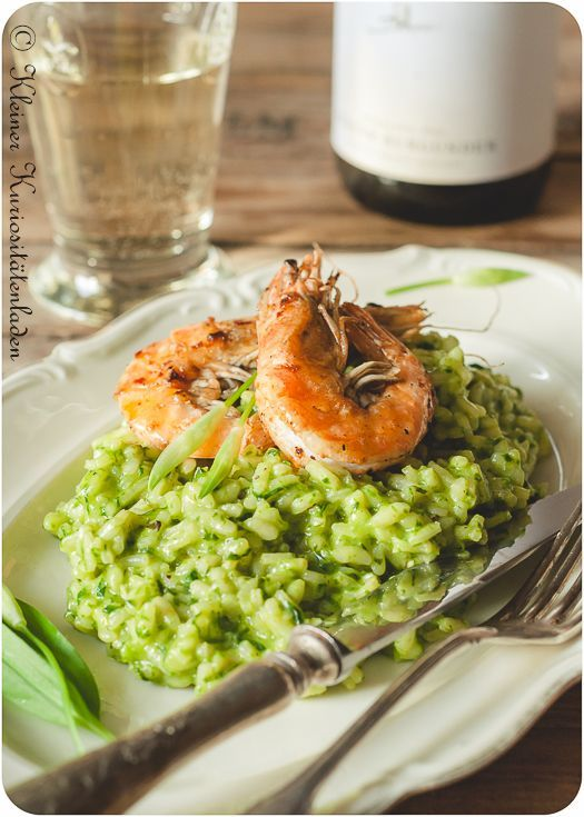 Photo of wild garlic risotto