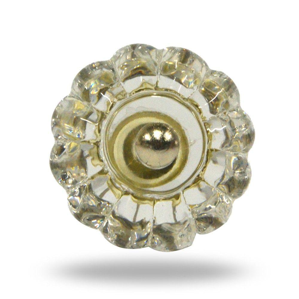 Glass delia knob furniture knobs kitchen cupboards and bathroom
