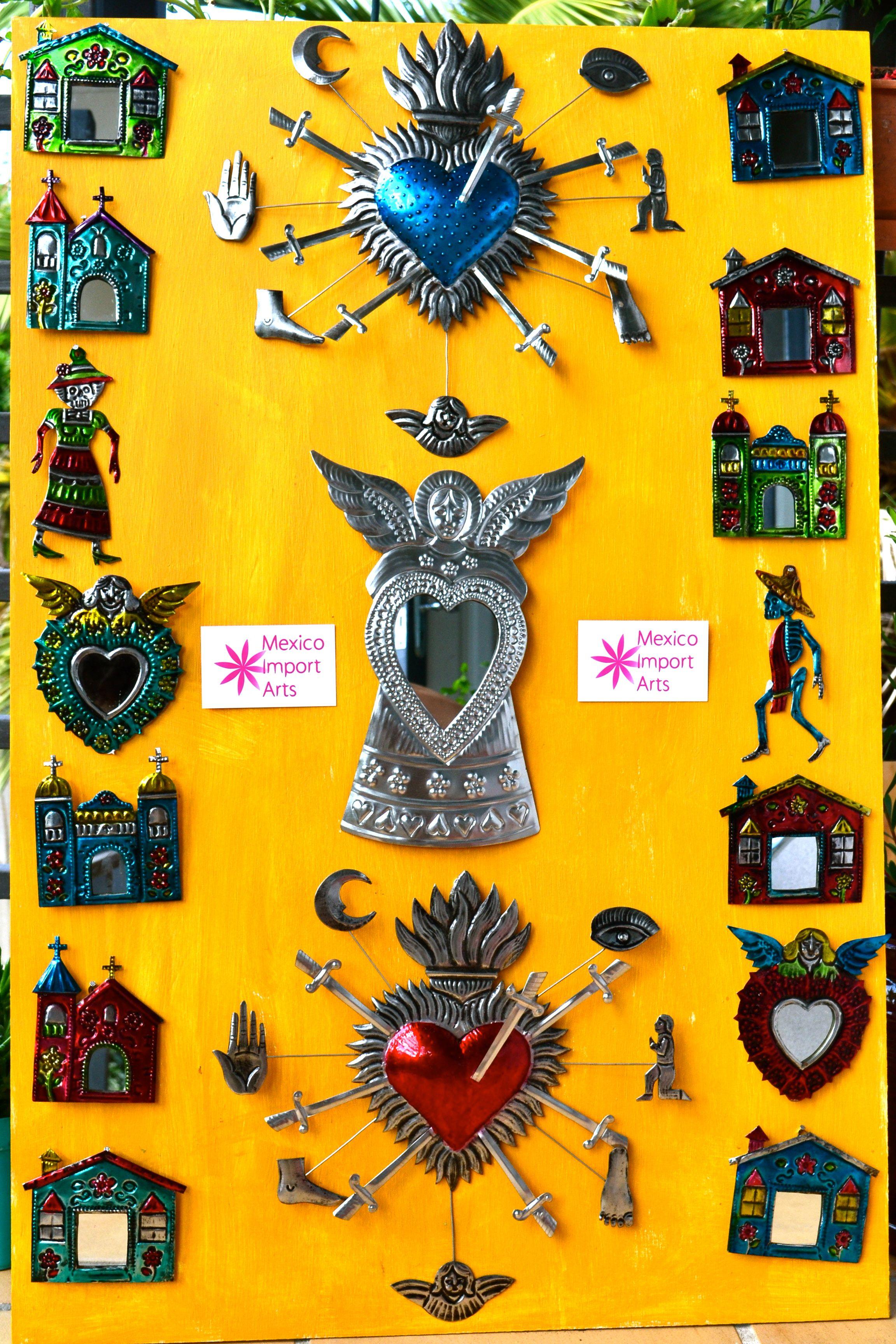 Gorgeous tin art decor for your home. | P.P Muebles, Objetos y ...