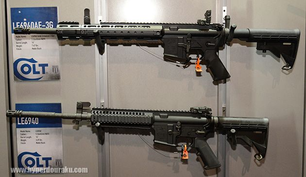 Colt Le6940 Side By Side Of The New 6940 Ae 3g Guns Pinterest