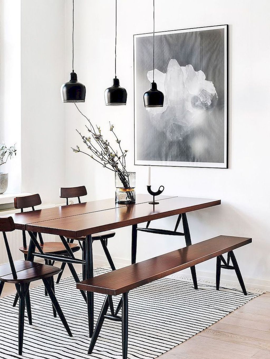 90 Scandinavian Interior Design Will Always Awesome Https Carrebianhome Com 90 S Minimalist Dining Room Decor Scandinavian Dining Room Minimalist Dining Room