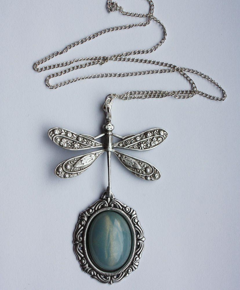 Dragonfly pendant by Pinkabsinthe.deviantart.com on @DeviantArt ...