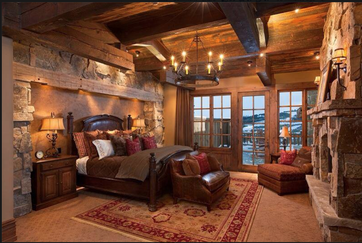 Rustic With Images Rustic Master Bedroom Design Rustic