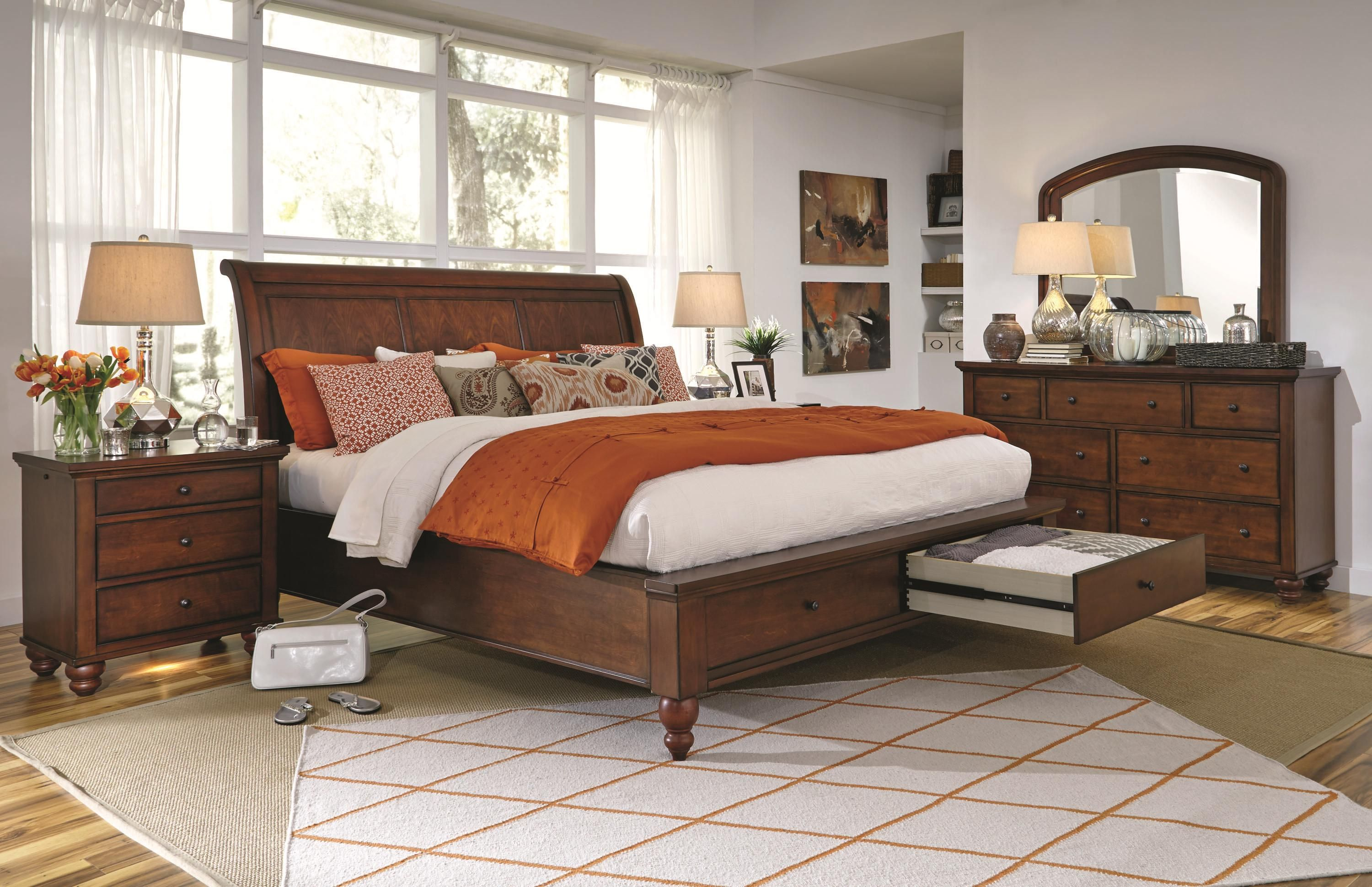 Cambridge king bedroom group by aspenhome favorite furniture