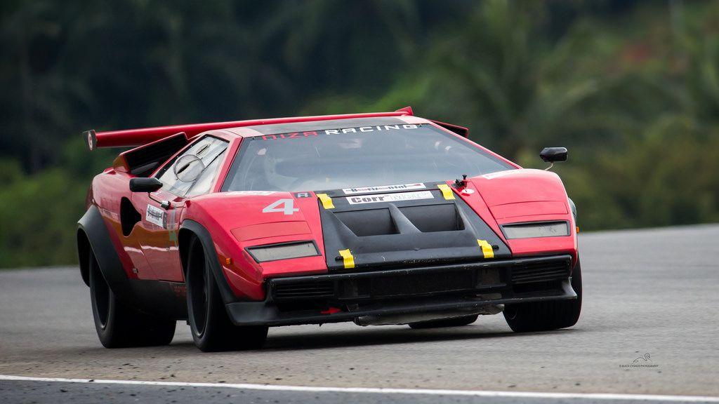 Lamborghini Countach Racecar Cars Of Course Pinterest