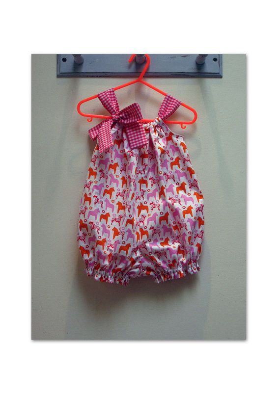 Baby girls romper sewing pattern, Pretty Baby Romper PDF sewing ...