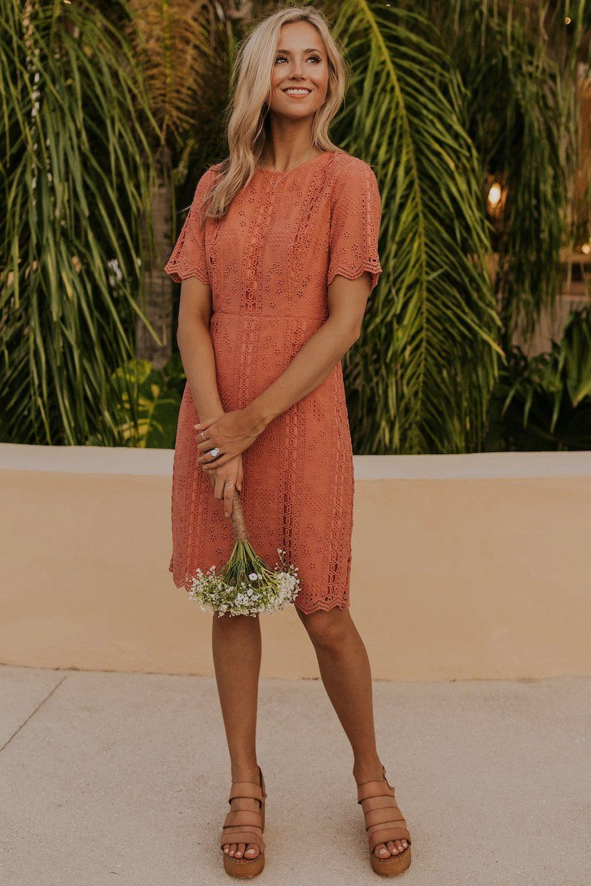 Lace Dress Ideas Dresses For Women Summer Outfit Ideas Bridesmaid Dress Ideas In 2020 Eyelet Lace Dress Short Summer Dresses Lace Dress