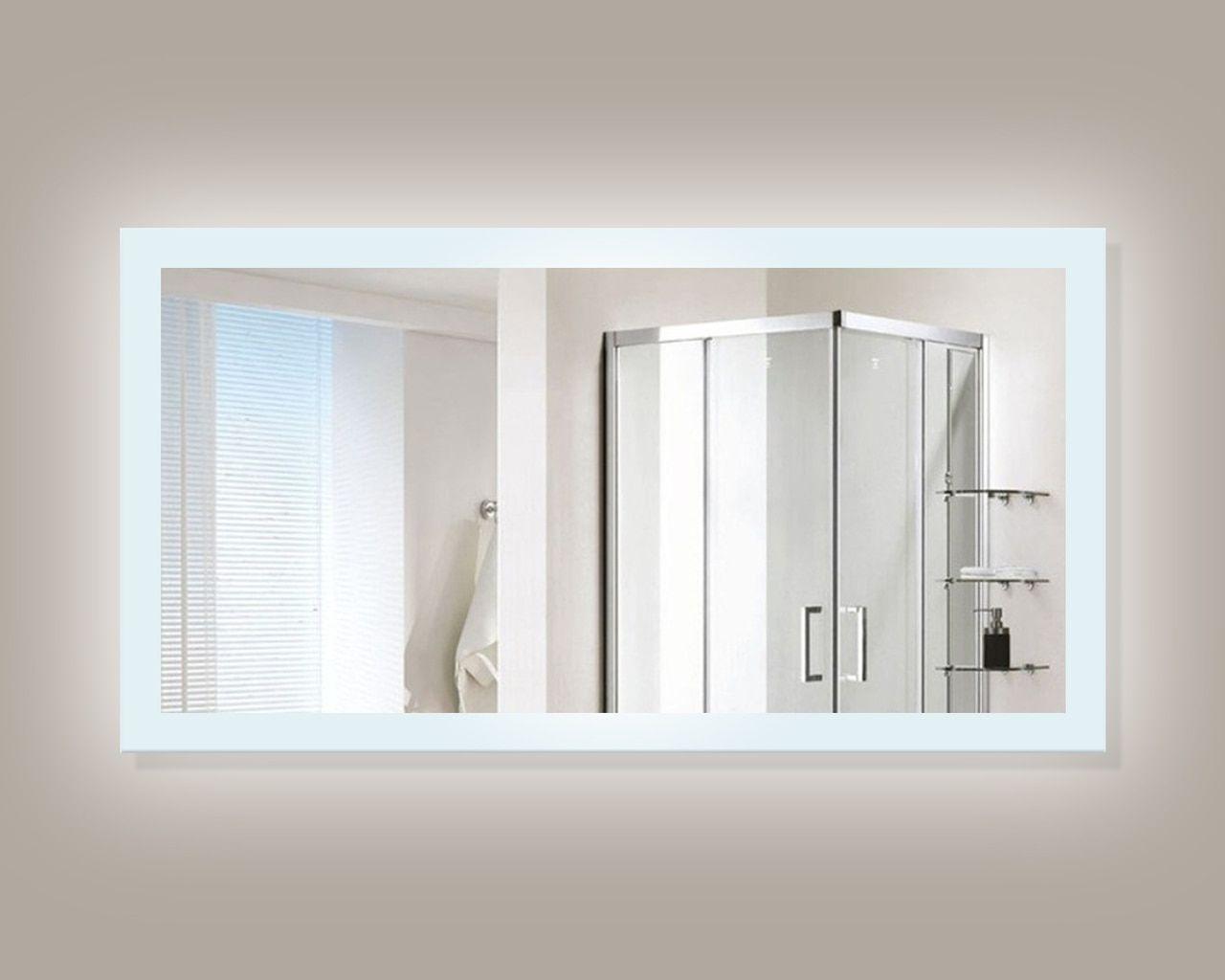 Encore LED Illuminated Bathroom Mirror | Bathroom mirrors, Glass ...