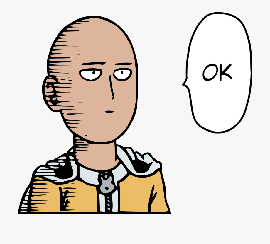 Transparent saitama anime 141465650. So you did have an