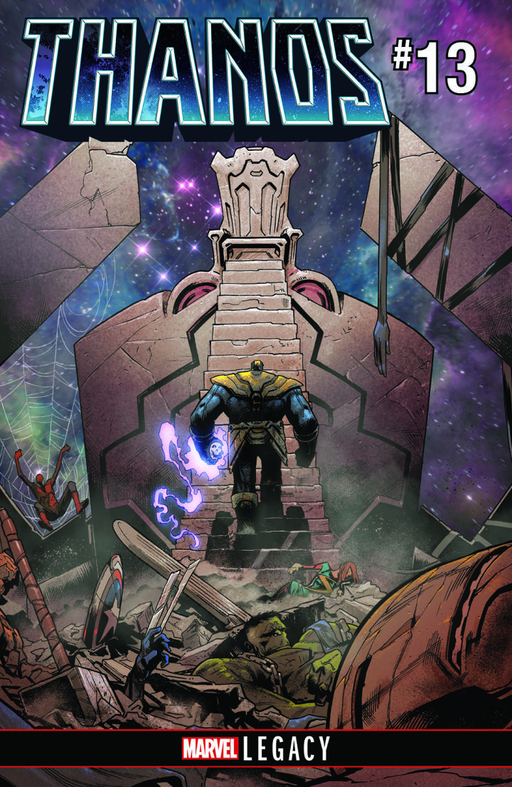New Marvel Hire Donny Cates Says Writing Thanos Comic Gave Him