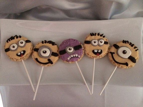 Rice Krispie Pops Minion Made To Order 12 By