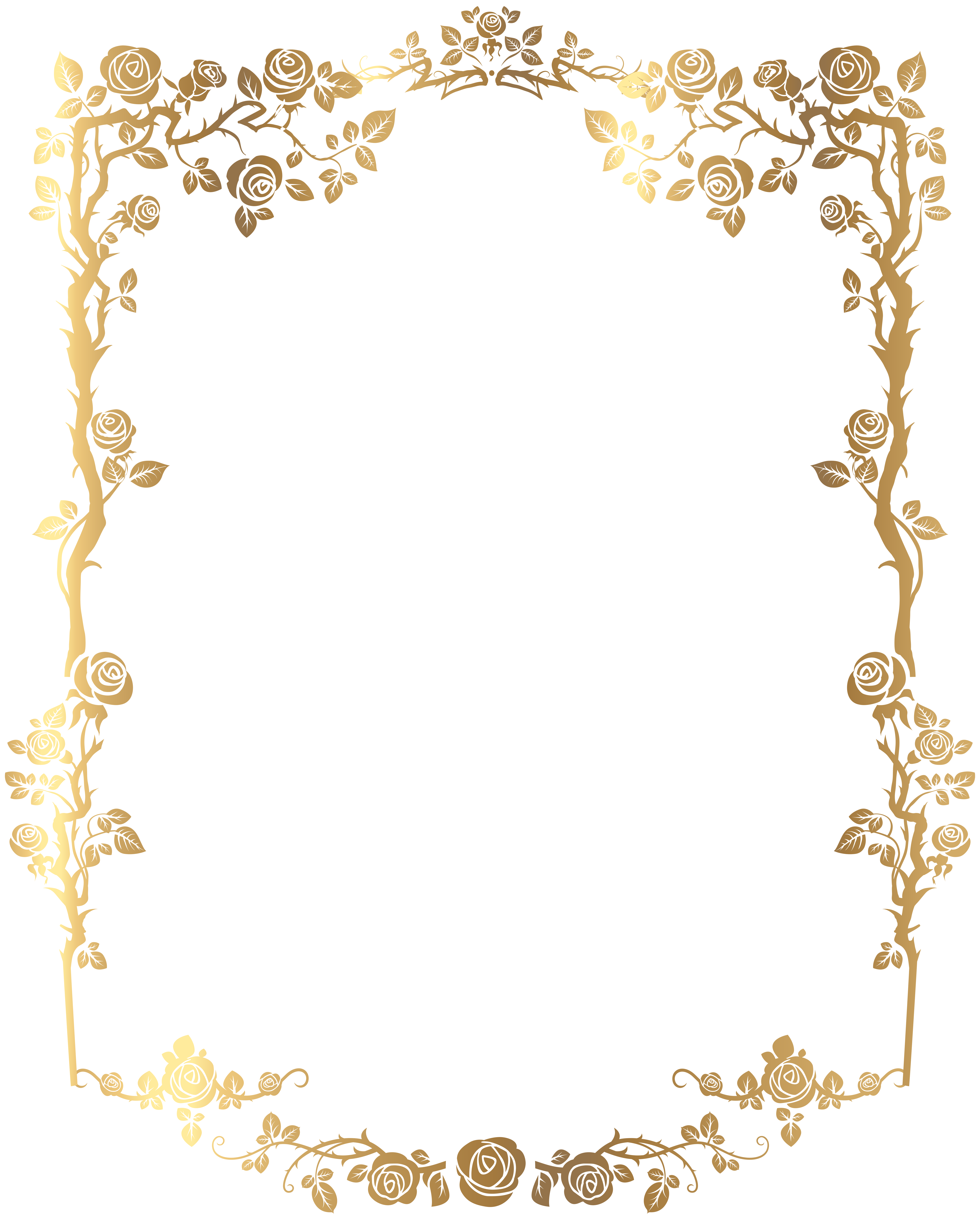Decorative Rose Frame Png Clip Art Image Gallery Yopriceville High Quality Images And Transpar Free Clip Art Wedding Invitations Borders Invitation Frames