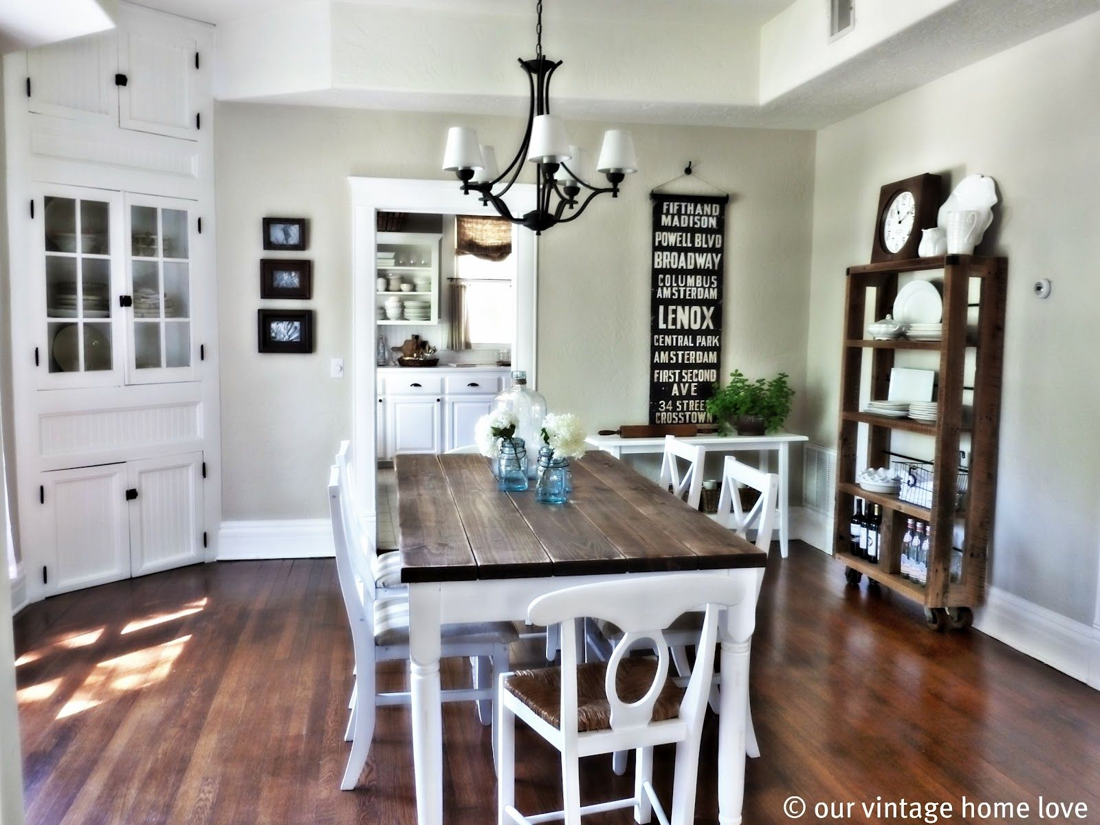 Our vintage home love dining room table diy i need to get on it